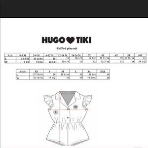 Hugo Loves Tiki Pants & Jumpsuits - Hugo Loves Tiki Mommy Daughter Rompers!